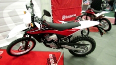 2012 Husqvarna TE511 at 2012 Montreal Motorcycle Show