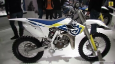 2014 Husqvarna TC 85 at 2013 EICMA Milan Motorcycle Exhibition