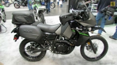 2014 Kawasaki KLR650 at 2013 New York Motorcycle Show