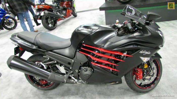 2014 kawasaki ninja zx 14r at 2013 new york motorcycle show for New york yamaha honda
