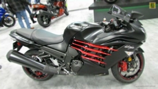2014 Kawasaki Ninja ZX-14R at 2013 New York Motorcycle Show