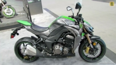 2014 Kawasaki Z1000 at 2013 New York Motorcycle Show