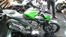 2014 Kawasaki Z800 at 2013 EICMA Milan Motorcycle Exhibition