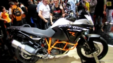 2014 KTM 1190 Adventure R at 2013 EICMA Milan Motorcycle Exhibition