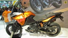 2014 KTM 1190 Adventure at 2013 EICMA Milan Motorcycle Exhibition