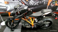 2014 KTM 1290 Super Duke at 2013 New York Motorcycle Show