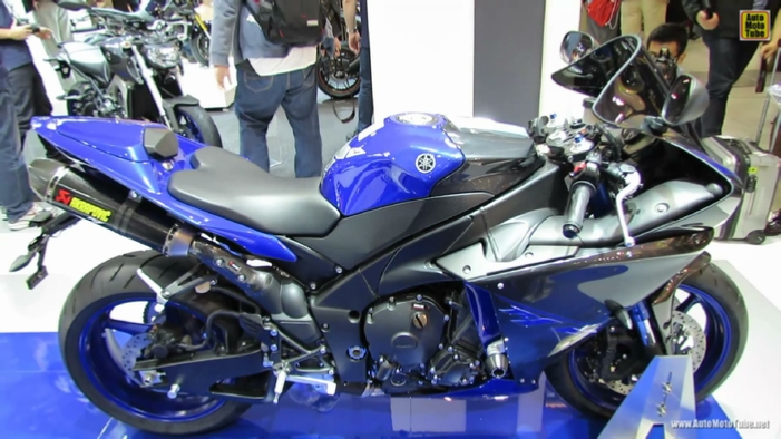 2014 Yamaha YZF-R1 at 2013 EICMA Milan Motorcycle Exhibition