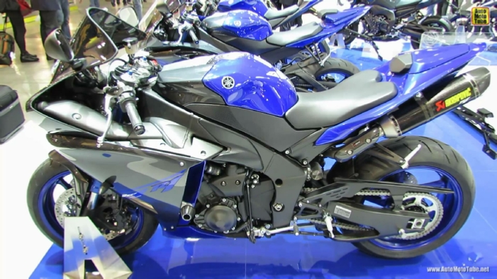 2014 Yamaha YZF-R1 at 2013 EICMA Milan Motorcycle Exhibition