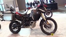 2015 BMW F800GS Adventure at 2014 New York Motorcycle Show