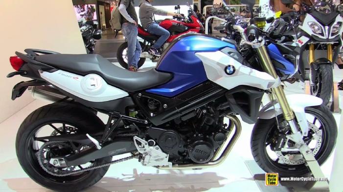 2015 Bmw F800r At 2014 Eicma Milan Motorcycle Exhibition