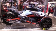 2015 Can-am Spyder F3 S Urban Nights at 2014 New York Motorcycle Show
