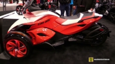 2015 Can-am Spyder ST S at 2014 New York Motorcycle Show