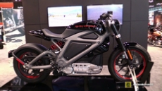 2015 Harley-Davidson LiveWire Electric Bike at 2014 New York Motorcycle Show