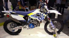 2015 Husqvarna FE 350 Husky Power at 2014 EICMA Milan Motorcycle Exhibition