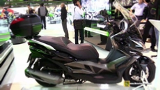 2015 Kawasaki J300 Scooter at 2014 EICMA Milan Motorcycle Exhibition