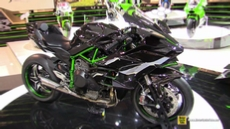 2015 Kawasaki Ninja H2-R Super Charged at 2014 EICMA Milan Motorcycle Exhibition