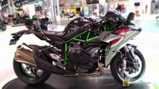2015 Kawasaki Ninja H2 Super Charged at 2014 New York Motorcycle Show