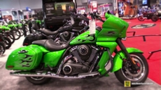 2015 Kawasaki Vulcan 1700 Vaquero ABS at 2014 New York Motorcycle Show
