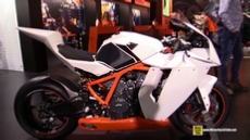 2015 KTM 1190 RC8 R at 2014 EICMA Milan Motorcycle Exhibition