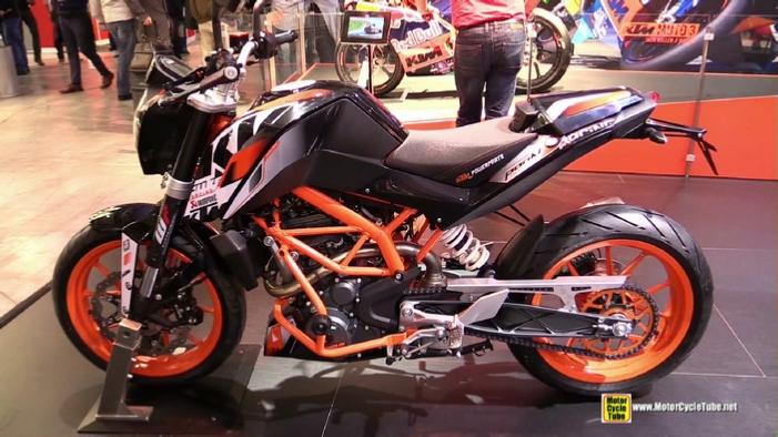 2015 ktm 390 duke at 2014 eicma milan motorcycle exhibition