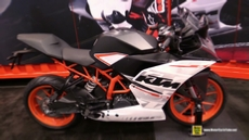 2015 KTM RC 390 at 2014 New York Motorcycle Show