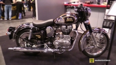 2015 Royal Enfield Classic 500 Chrome at 2014 New York Motorcycle Show