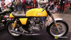 2015 Royal Enfield Continental GT at 2014 New York Motorcycle Show