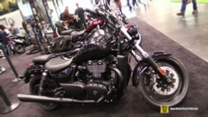 2015 Triumph Thunderbird Nightstorm ABS at 2014 New York Motorcycle Show
