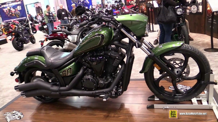 2015 Yamaha Stryker Bullet Cowl at 2014 New York Motorcycle Show