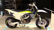 2016 Husqvarna 701 Supermoto at 2015 EICMA Milan Motorcycle Exhibition