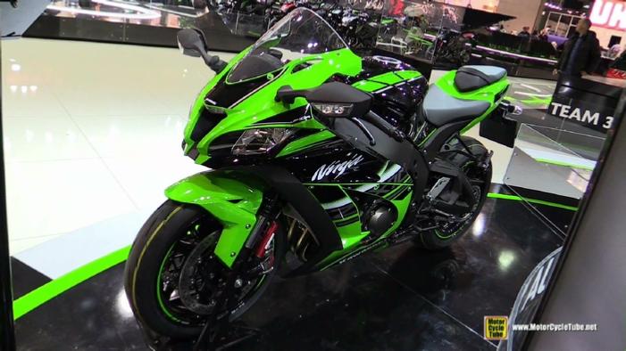 2016 Kawasaki Ninja ZX10R KRT at 2015 EICMA Milan Motorcycle