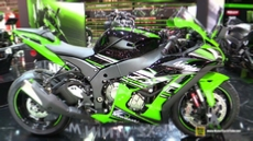 2016 Kawasaki Ninja ZX10R KRT at 2015 EICMA Milan Motorcycle Exhibition