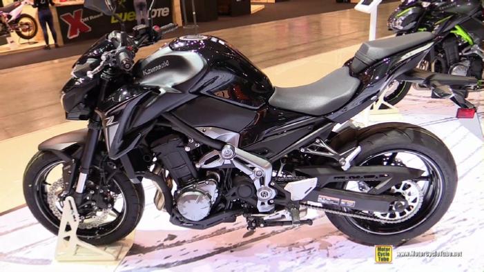 2017 Kawasaki Z900 At 2016 EICMA Milan Motorcycle Show