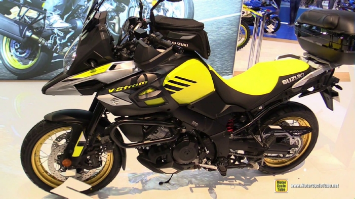 2017 suzuki v strom 1000 xt at 2016 eicma milan motorcycle. Black Bedroom Furniture Sets. Home Design Ideas