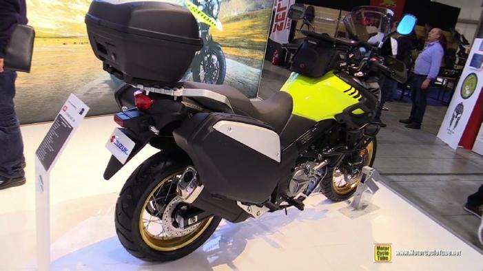 2017 Suzuki V Strom 650 Xt At 2016 Eicma Milan Motorcycle