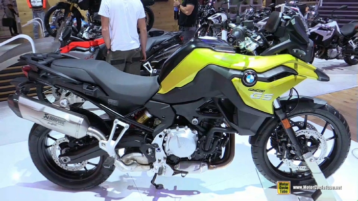 2018 bmw f750 gs at 2017 eicma milan motorcycle exhibition. Black Bedroom Furniture Sets. Home Design Ideas