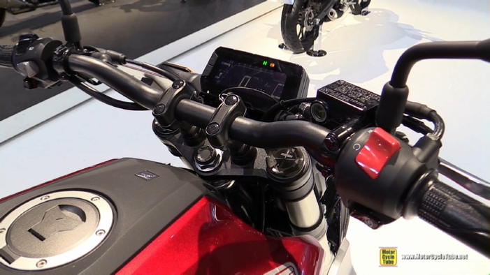 2018 Honda CB300R Neo Sports Cafe At 2017 EICMA Milan Motorcycle Show