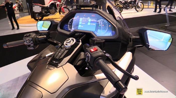 2018 Honda Goldwing At 2017 Eicma Milan Motorcycle Exhibition