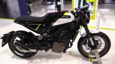 2018 Husqvarna Vitpilen 401 at 2017 EICMA Milan Motorcycle Exhibition