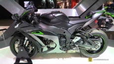 2018 Kawasaki Ninja ZX10R SE at 2017 EICMA Milan Motorcycle Exhibition