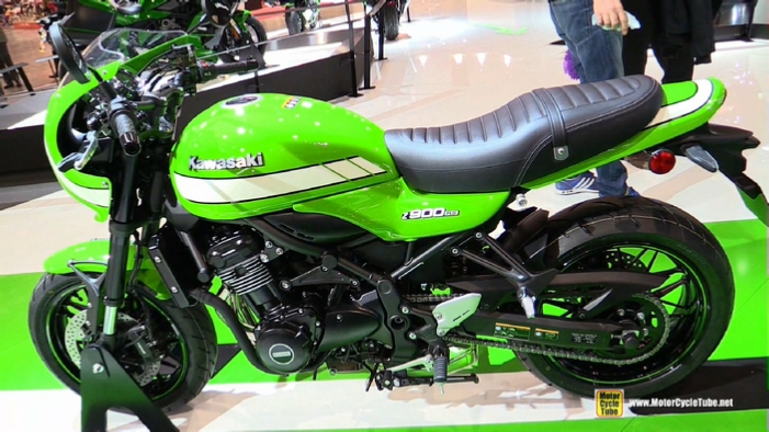 2018 Kawasaki Z900RS Cafe At 2017 EICMA Milan Motorcycle Show