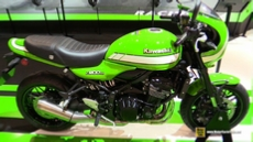 2018 Kawasaki Z900RS Cafe at 2017 EICMA Milan Motorcycle Exhibition