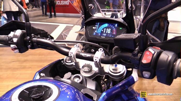 2018 Triumph Tiger 800 Xrx At 2017 Eicma Milan Motorcycle Exhibition