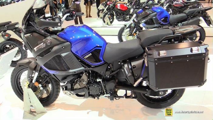 2018 yamaha super tenere raid edition at 2017 eicma milan motorcycle exhibition. Black Bedroom Furniture Sets. Home Design Ideas